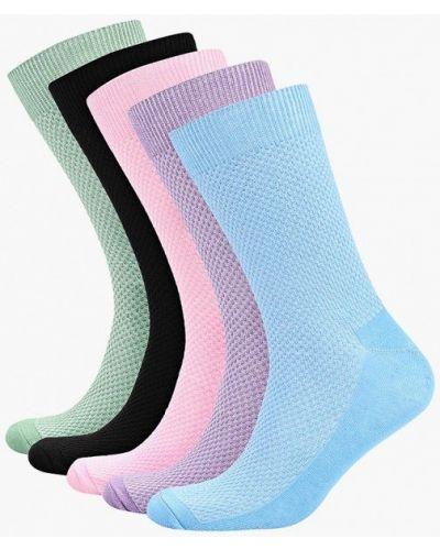 Носки зеленый розовый Topman