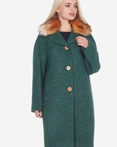 Пальто демисезонное зеленое Artwizard