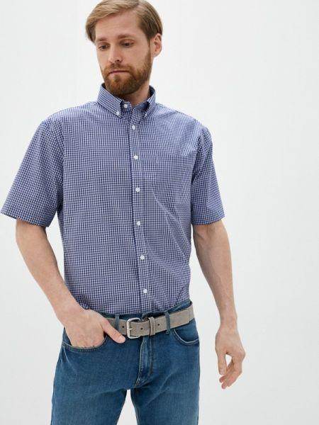 Синяя рубашка с короткими рукавами Marks & Spencer