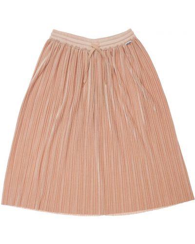 Плиссированная юбка - розовая Molo