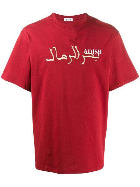 Прямая рубашка с короткими рукавами Adish