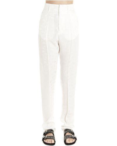 Spodnie casual - białe Isabel Marant