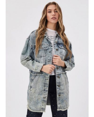 Джинсовая куртка - голубая D'she