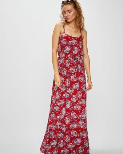 Платье макси на бретелях прямое Vero Moda