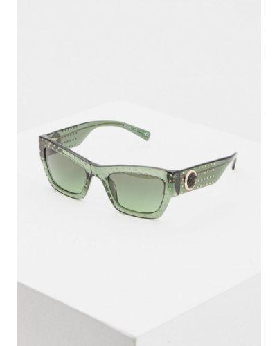 Солнцезащитные очки 2019 прямоугольные Versace