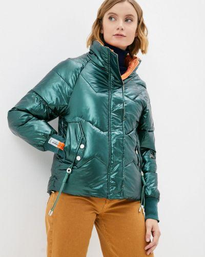 Зеленая хлопковая куртка Fresh Cotton
