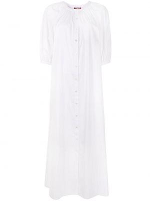 Платье макси длинное - белое Staud