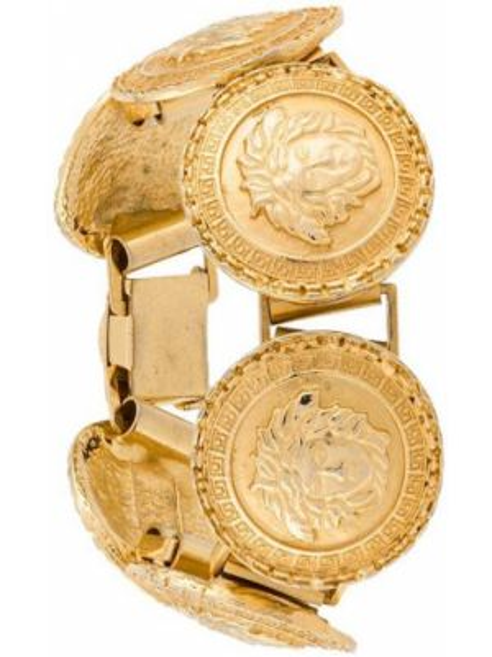 Bransoletka ze złota wytłoczony złoto Versace Pre-owned