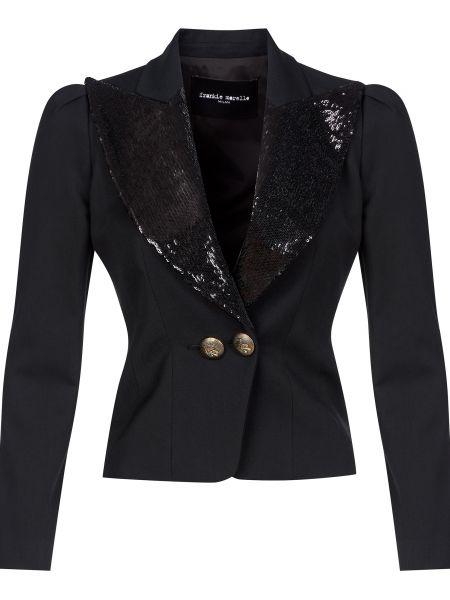 Черный пиджак Frankie Morello