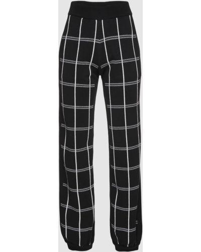 Шерстяные брюки - черные Chloé