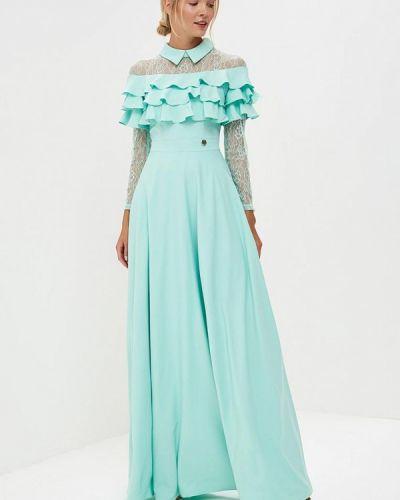 Вечернее платье бирюзовый X'zotic