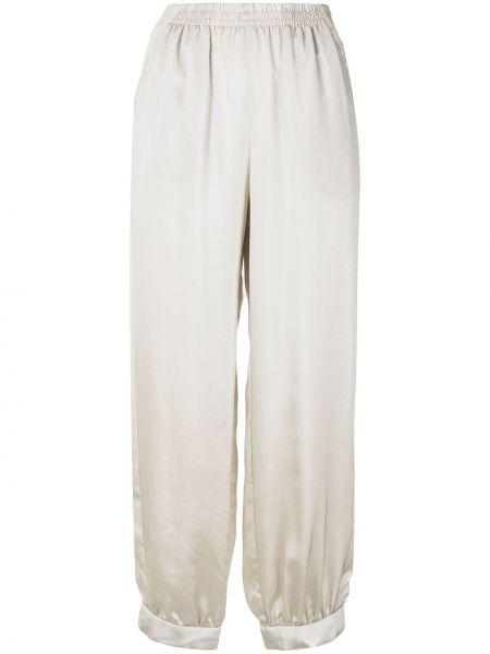 Спортивные брюки укороченные серые Emporio Armani