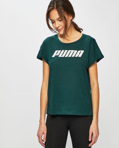 Спортивная футболка свободная в клетку Puma
