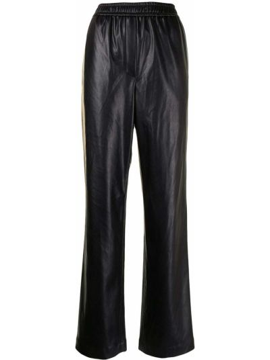 Кожаные брюки - черные Goen.j