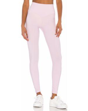 Fioletowe spodnie z nylonu Lovewave