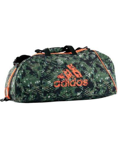 Спортивная сумка камуфляжная на молнии Adidas