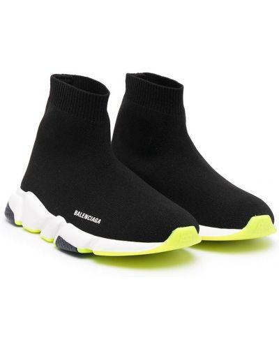 Sneakersy - czarne Balenciaga Kids