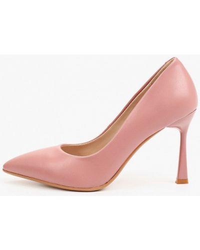 Розовые туфли летние Diora.rim