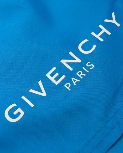 Плавки-боксеры с логотипом плавки-шорты Givenchy
