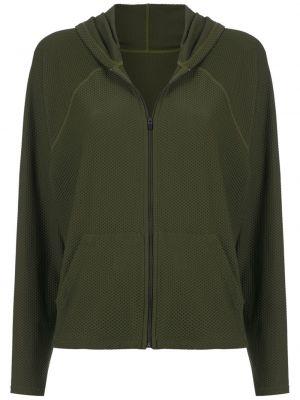 Зеленая спортивная куртка с капюшоном на молнии Track & Field