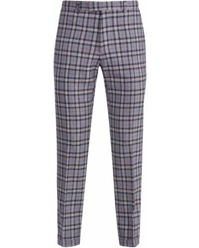 Прямые брюки с карманами шерстяные Gucci