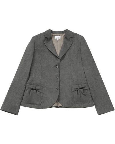 Пиджак серый шерстяной Aletta