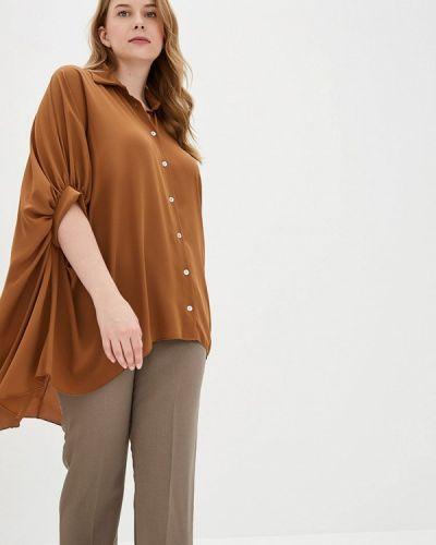 Блузка - коричневая Kitana By Rinascimento