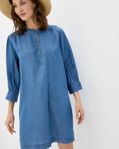 Джинсовое платье - голубое Soaked In Luxury