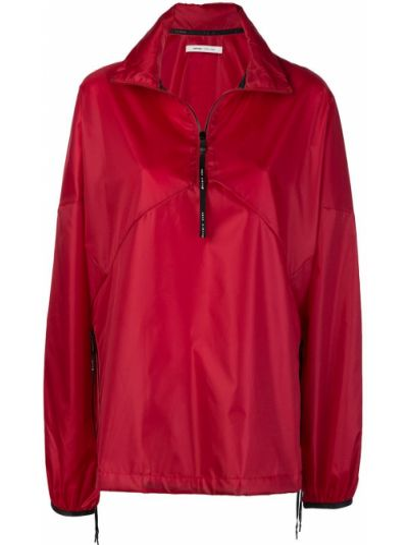 Красная с рукавами ветровка эластичная Damir Doma