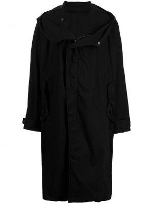Czarny klasyczny płaszcz Julius