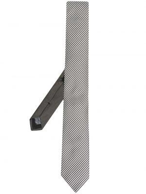Czarny krawat z jedwabiu Boss Hugo Boss