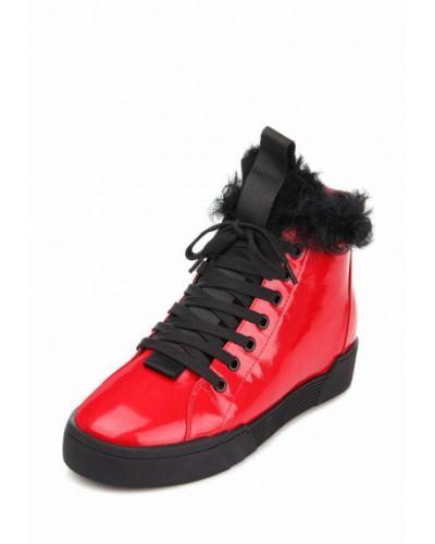 Кожаные ботинки осенние высокие Ditto