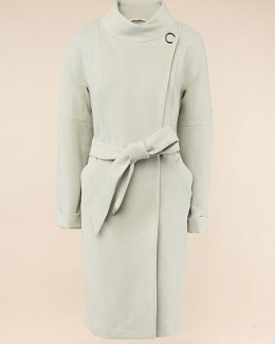 Шерстяное пальто - зеленое Electrastyle