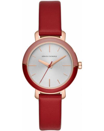 Кварцевые часы водонепроницаемые с круглым циферблатом Armani Exchange