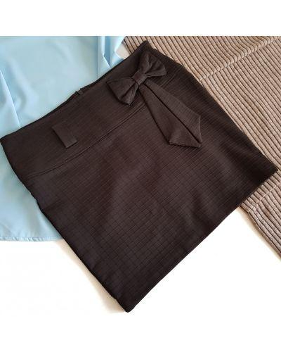 Юбка мини короткая - черная Yingguoxiang