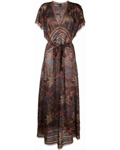 Шелковое платье мини - красное Carine Gilson