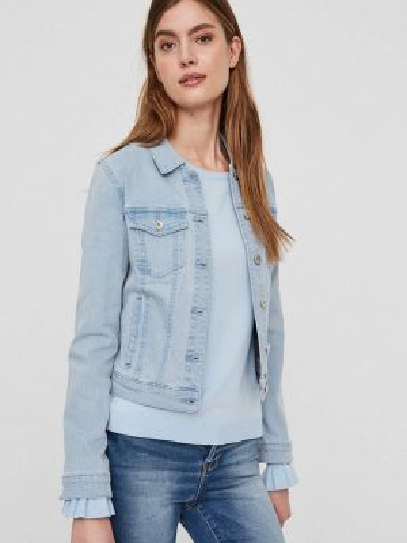 Джинсовая куртка весенняя Vero Moda