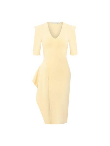 Платье футляр из вискозы Stella Mccartney