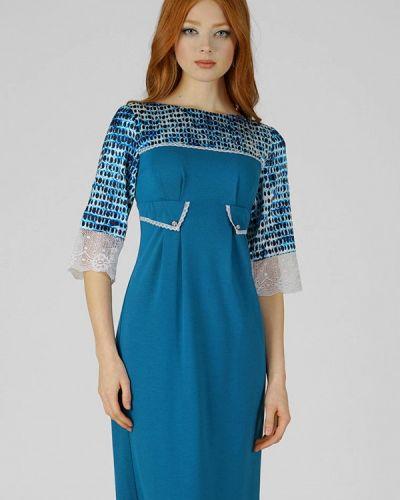 Платье - синее Ано