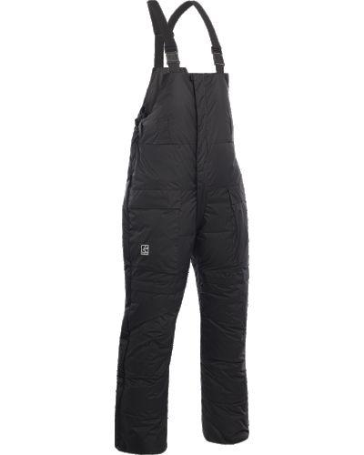 Теплые костюмные пуховые брюки Bask