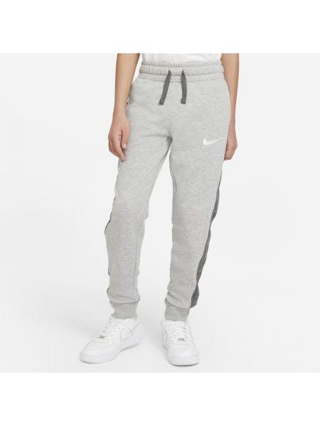 Szare spodnie dzianinowe Nike