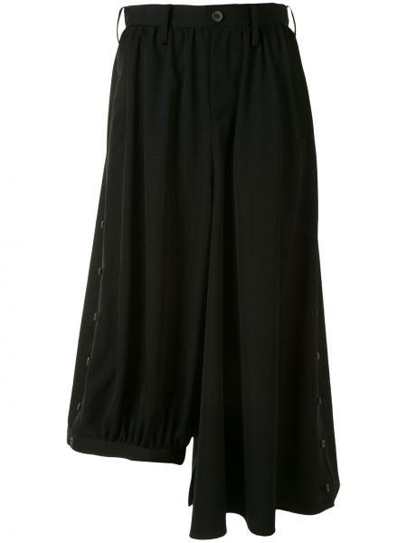 Укороченные брюки с завышенной талией свободные Yohji Yamamoto