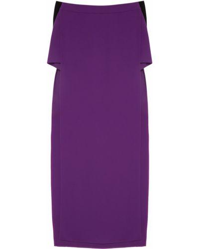 Фиолетовые короткие шорты Gareth Pugh