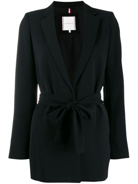 Черный пиджак с запахом Tommy Hilfiger