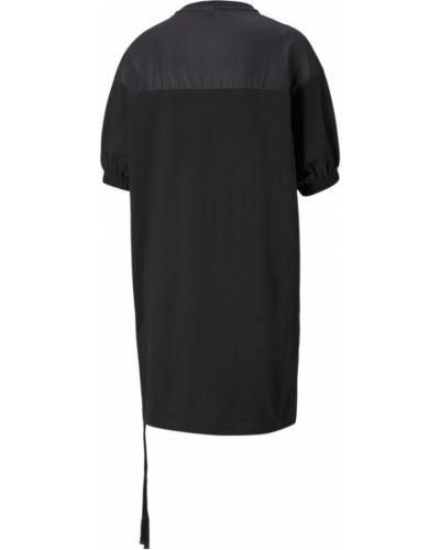 Черное платье свободного кроя Puma