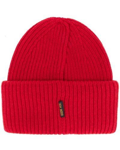 Красная шапка шерстяная Golden Goose Deluxe Brand