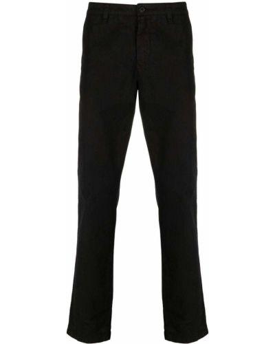 Czarne spodnie bawełniane Belstaff