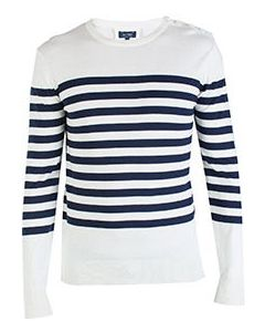 Белый свитер Armani Jeans