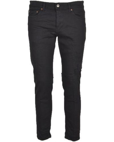 Czarne mom jeans Aglini