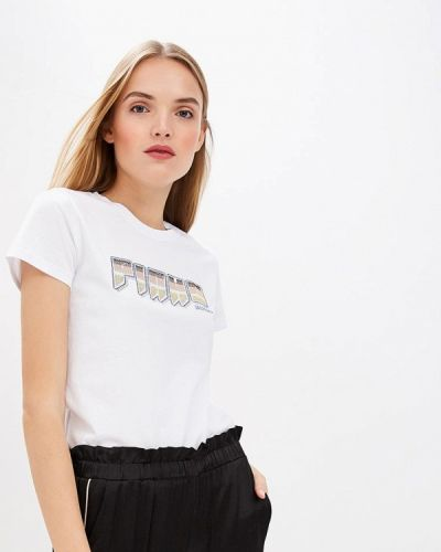 Белая футболка 2019 Pinko